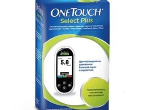 Глюкометр One tought Select Plus