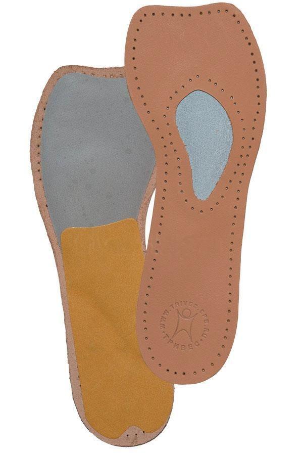Полустельки ортопедические мужские, женские (для модельной обуви, кожа) СТ-231 р.36
