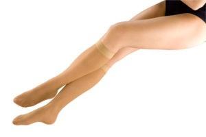 Чулки до колена и выше