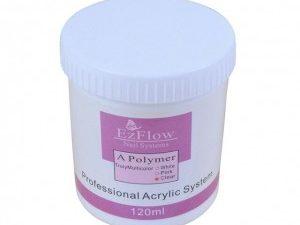 Акриловая пудра розовая Ezflow 120 мл