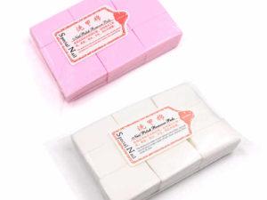 Салфетки для снятия шеллака (упаковка 1000 шт.) твердые