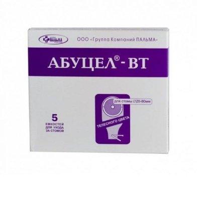 Калоприемник Абуцел-ВТ №5 полим. запахонепрон